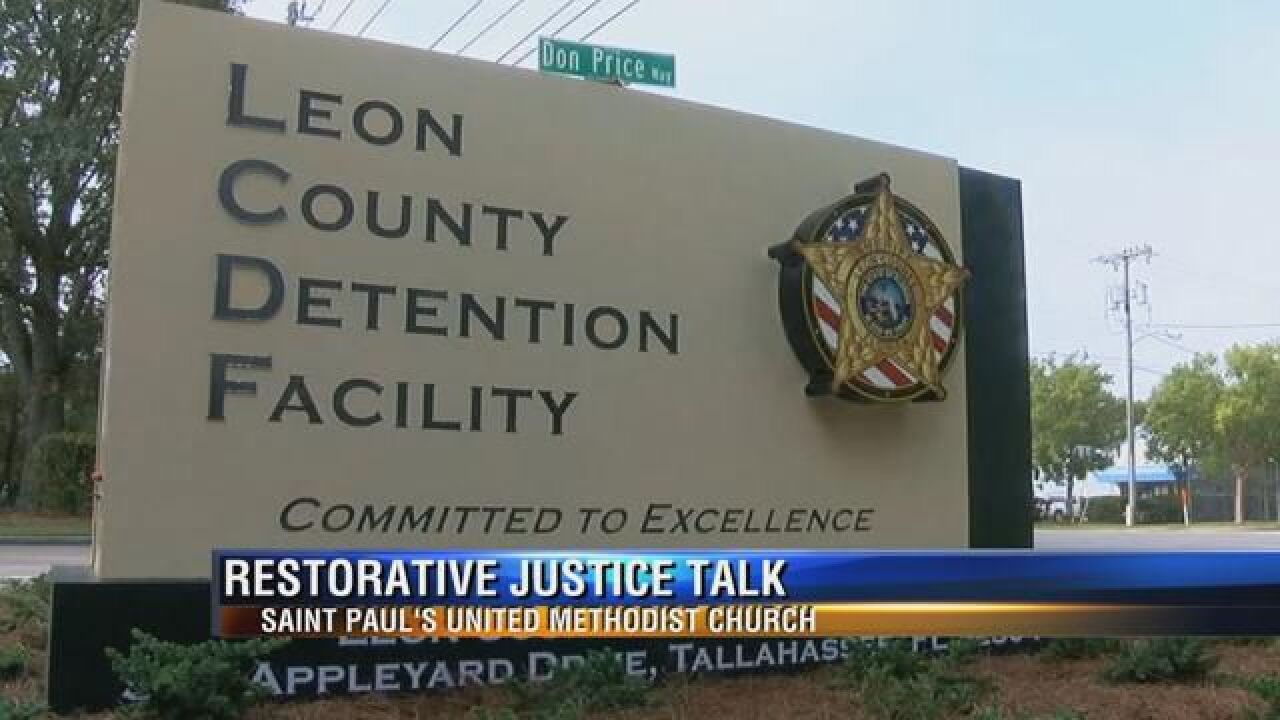 Tallahassee church holds community discussion on restorative justice