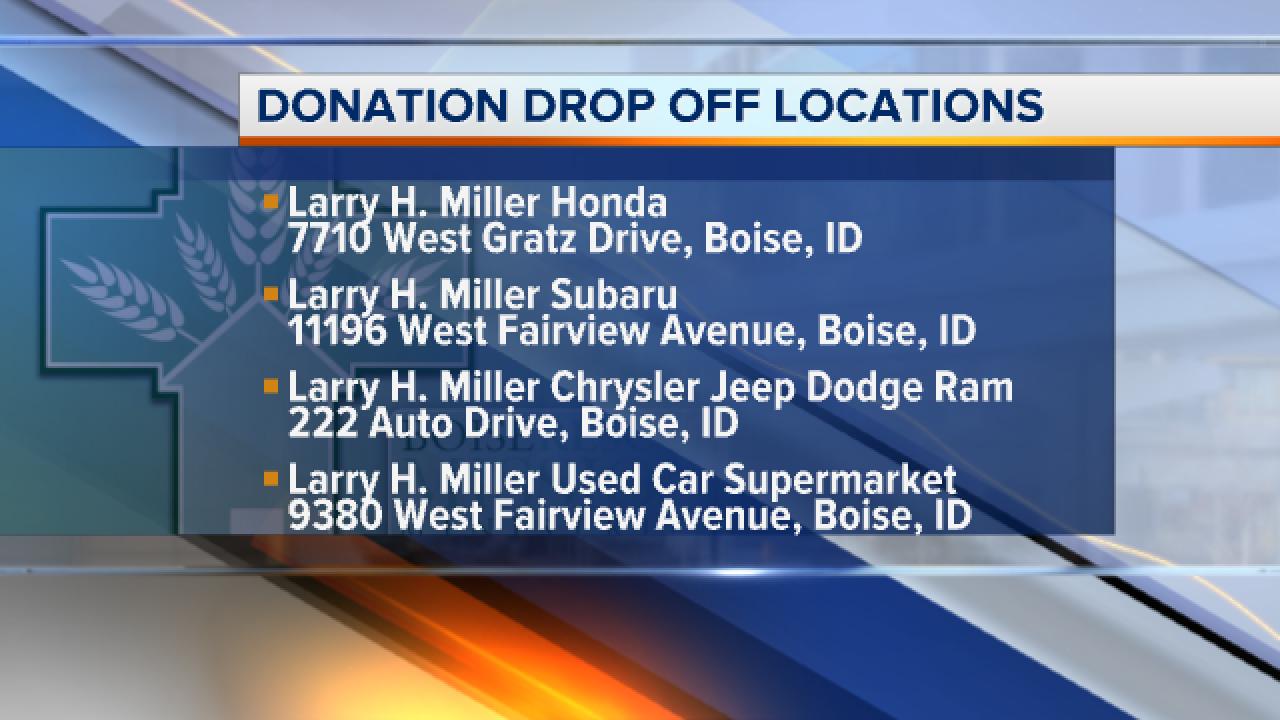 Larry Miller Dodge Boise >> Larry H Miller Holding Annual Driving For Coats Drive