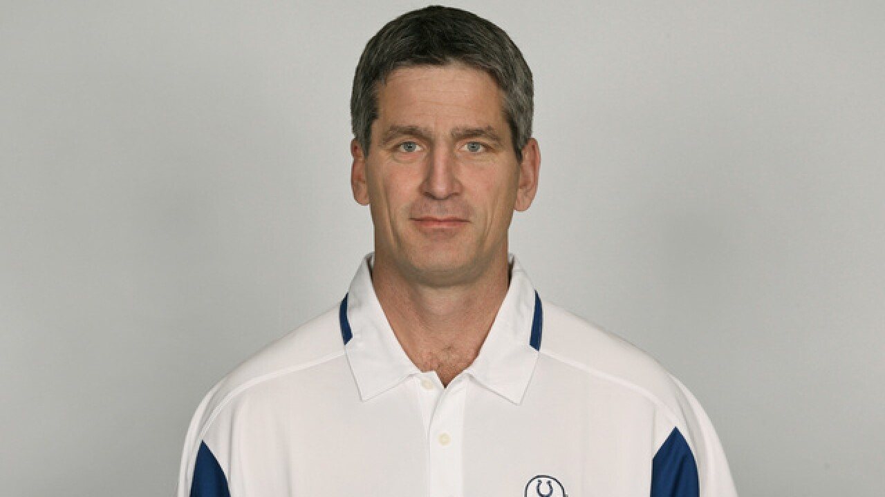 It's official! Frank Reich is the new head coach of the Colts