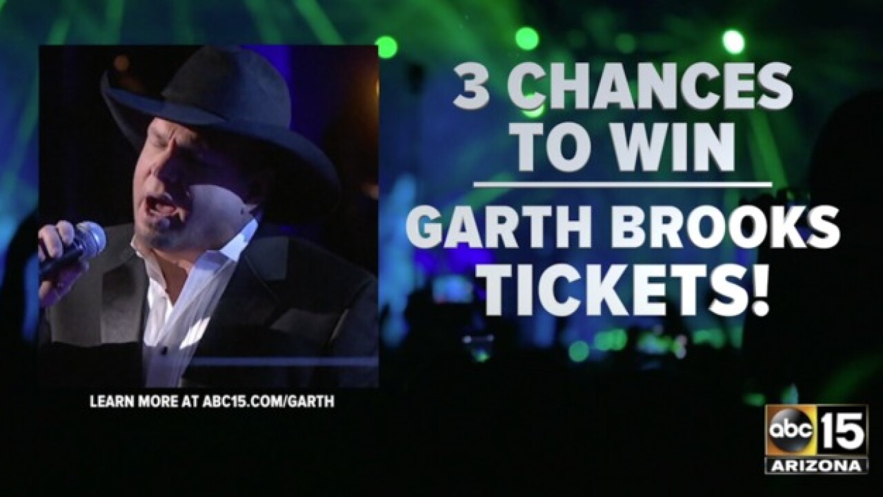RULES: Garth Brooks Concert Tickets Sweepstakes