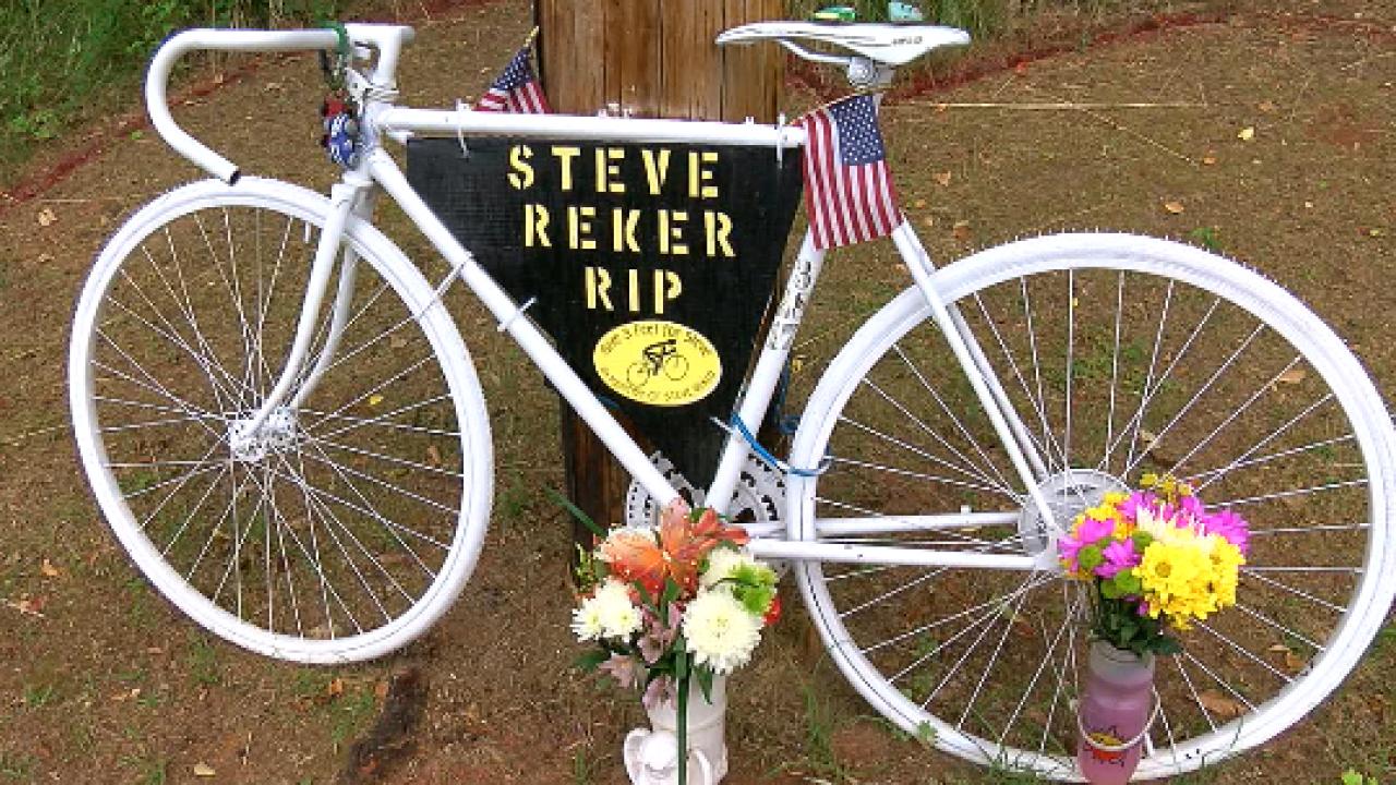 Steve Reker memorial bike