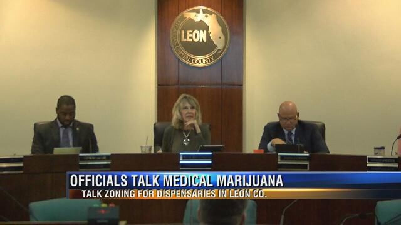 Leon County Officials Meet for Workshop
