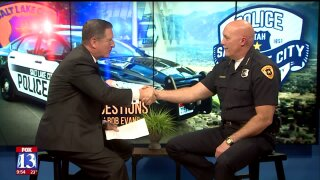 Three Questions With Bob Evans: Salt Lake Police Chief Mike Brown