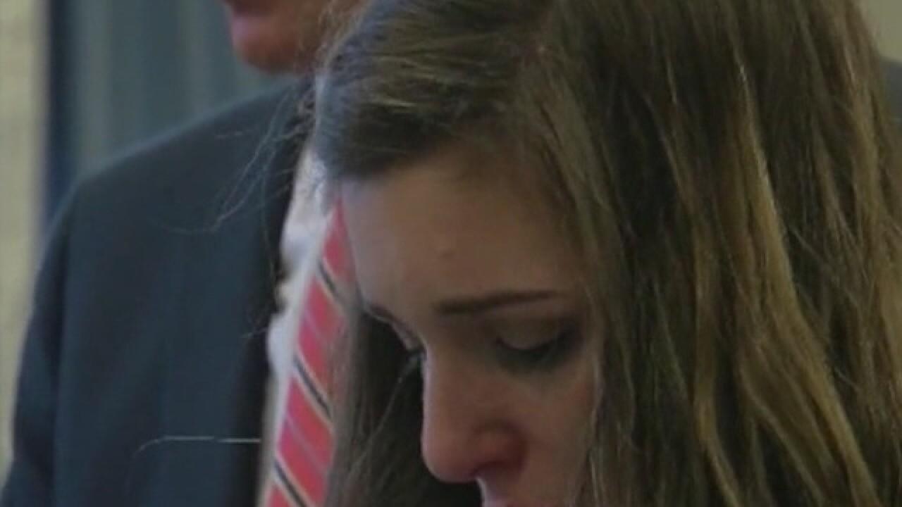 Woman gets three years for wrong-way crash
