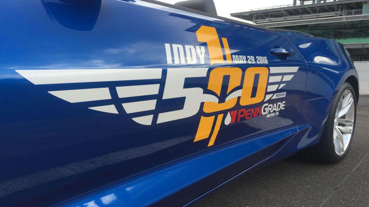 PHOTOS: 2016 Indy 500 Festival Car
