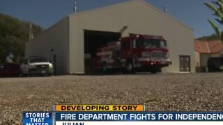Vote to dissolve Julian Volunteer Fire Department happening Monday