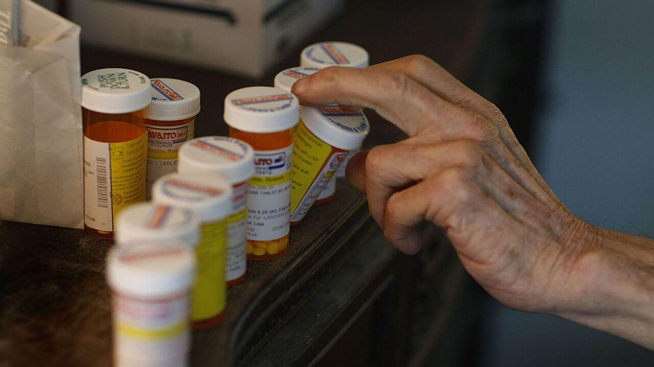 Prescription drugs pill bottles Getty 022509