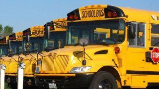 School bus in Lee County