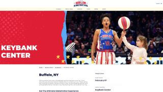 Harlem Globetrotters coming to Buffalo