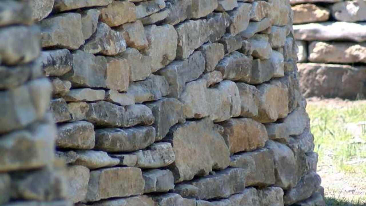 Walking Wall rocks