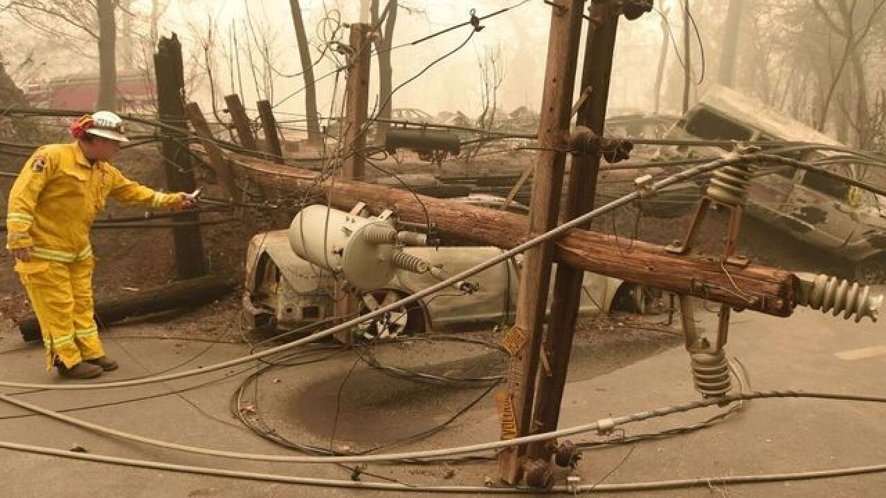 PG&E could be in big financial trouble if it's found liable for California's Camp Fire