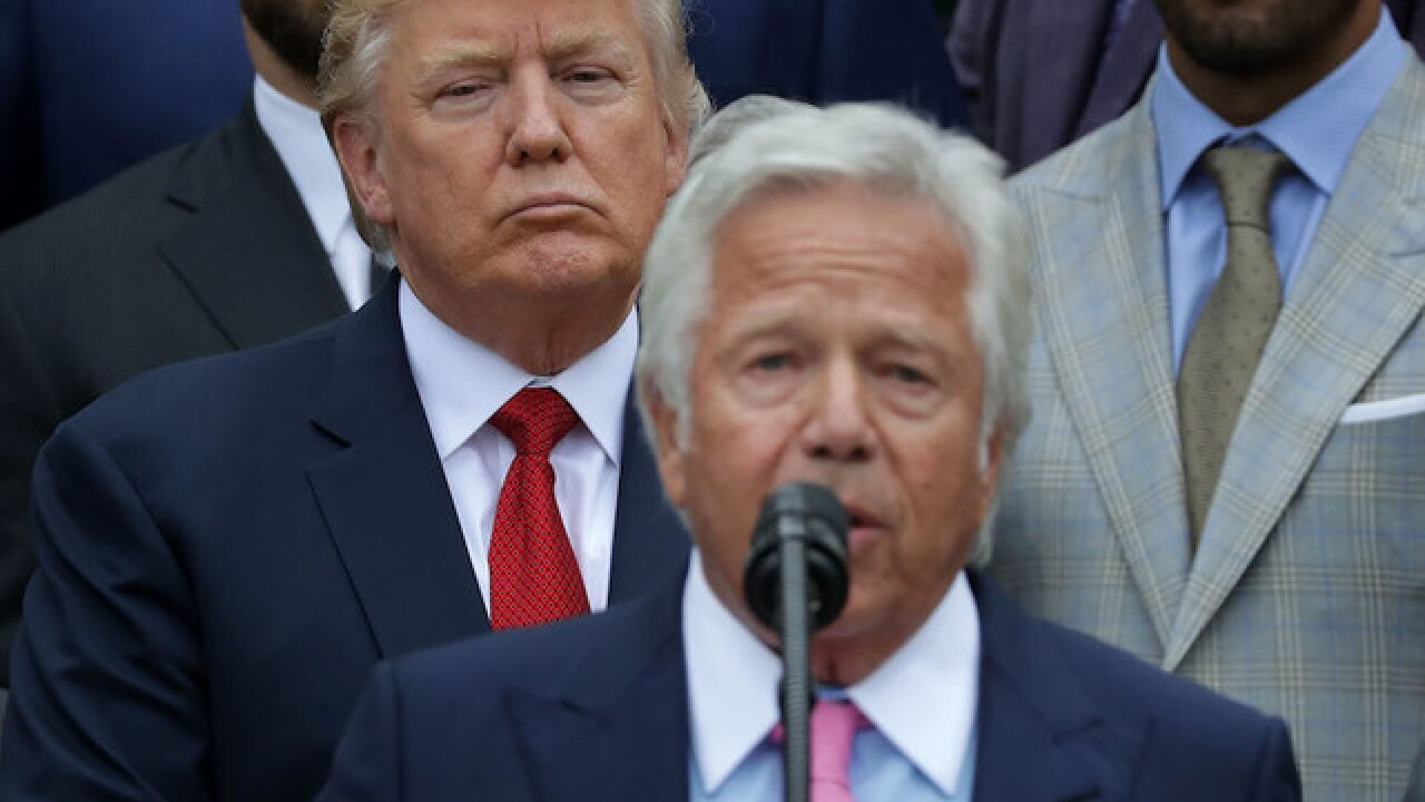 Several NFL owners denounce Trump's statements
