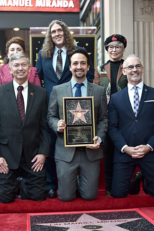 Photos: Lin-Manuel Miranda receives star on Hollywood Walk ofFame