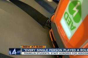 'Every single person played a role:' Franklin students, staff save student after medical emergency