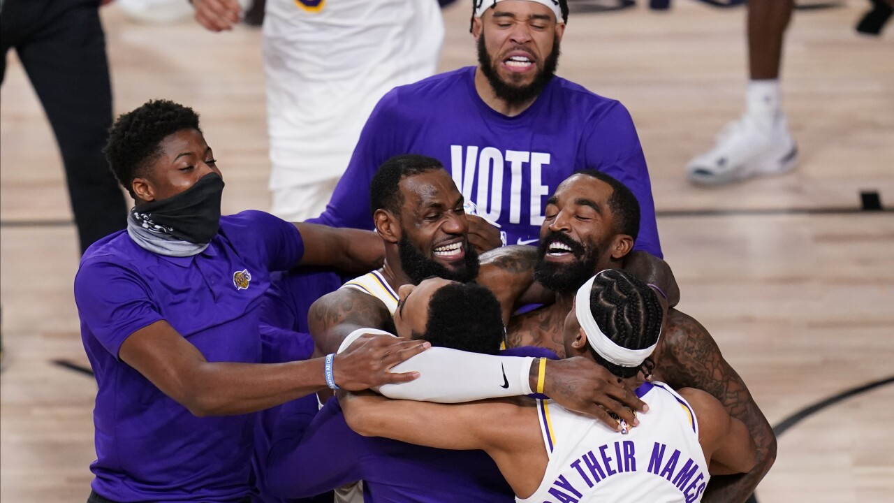 Lakers defeat Heat to win NBA championship