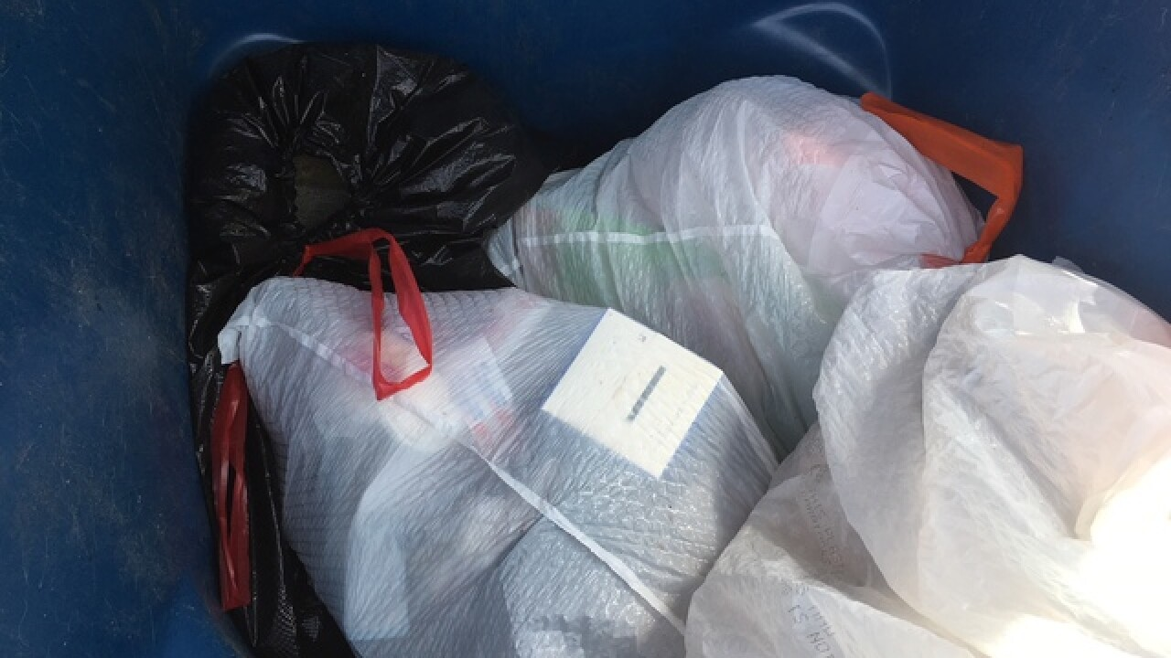 """Vegas senior frustrated by """"carry out"""" trash"""