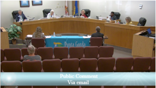 City of Punta Gorda council meeting