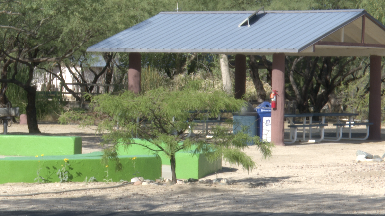 Girl Scouts of Southern Arizona summer campsite