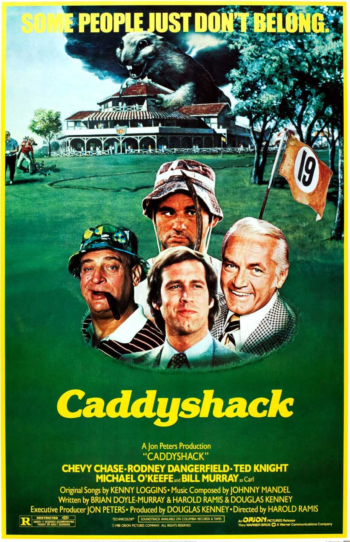 'Caddyshack' movie poster