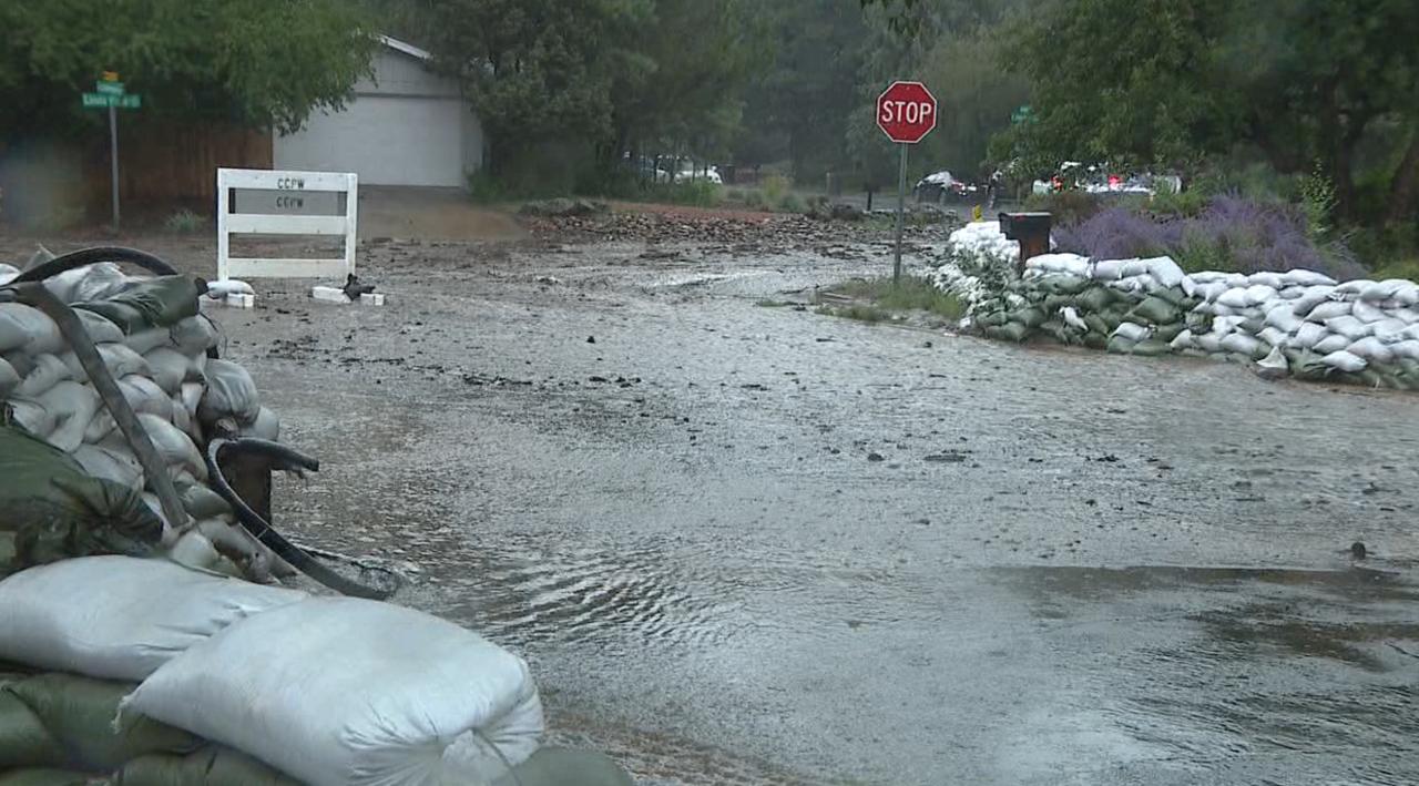 Flash flooding in Flagstaff