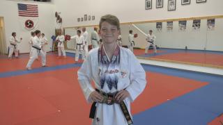 Bozeman's August Blunck earns spot on Junior US National Karate team