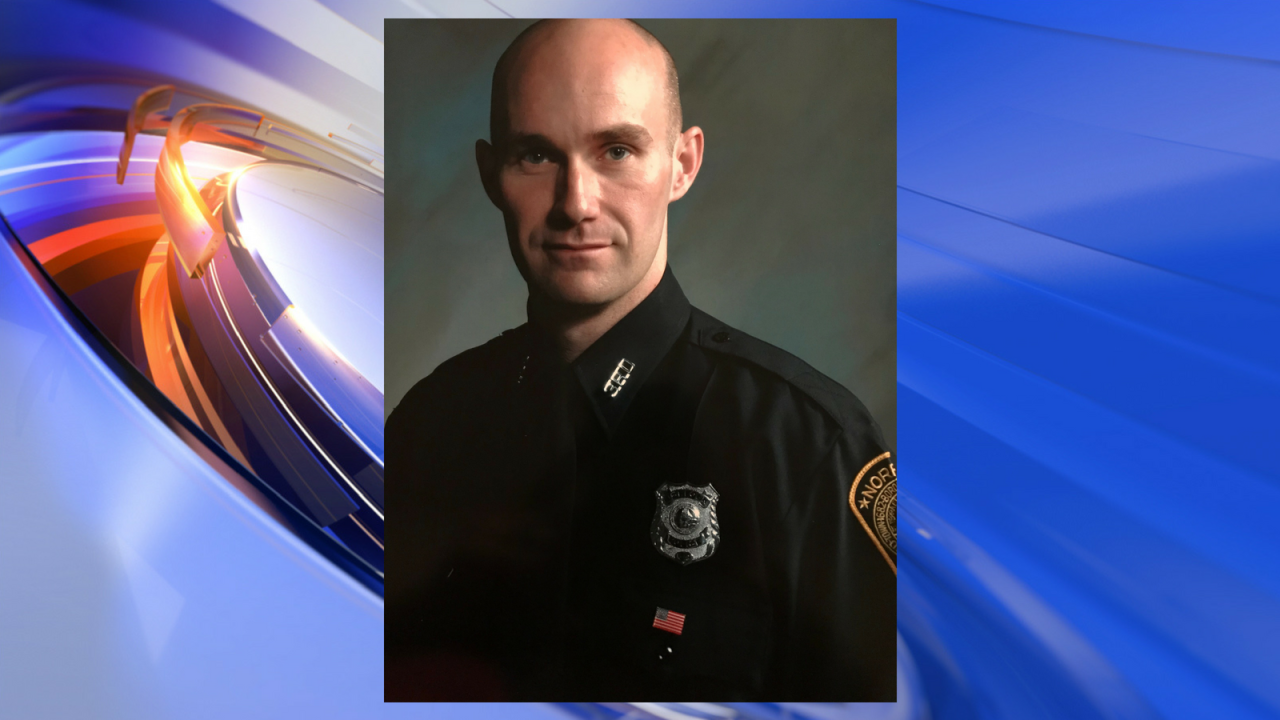 Widow of fallen police officer holding a blood drive in hishonor
