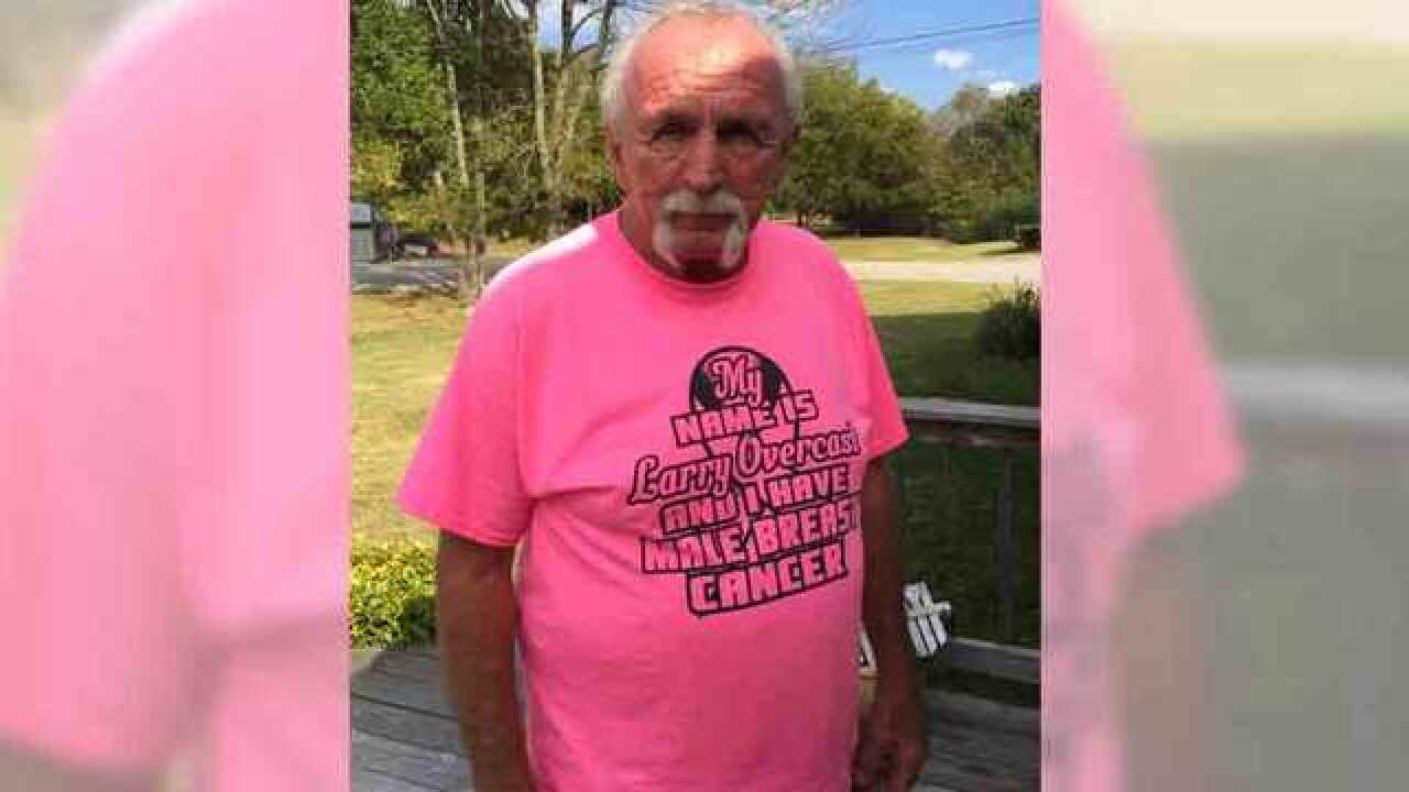 Trucker Shares Male Breast Cancer Survival Story