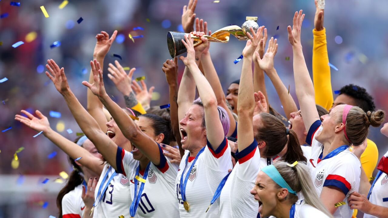 House bill would withhold funds from World Cup until women's team earns equal pay
