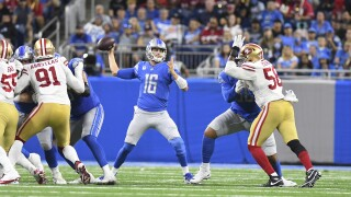 Jared Goff 49ers Lions Football