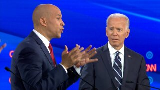 Biden faces attacks from all sides on debate stage from fellow Democrats