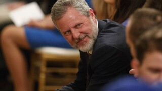 Liberty University's Falwell taking leave of absence