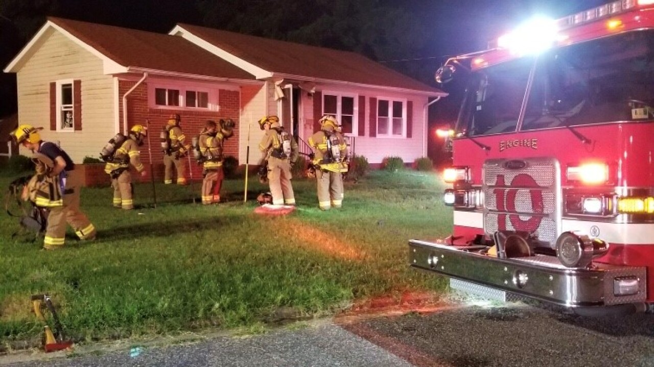 Red Cross assisting homeowners after Portsmouth house fire