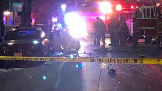 Ridge and Montgomery crash