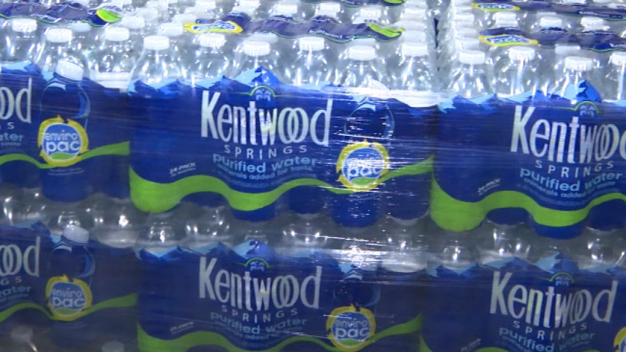Kentwood water bottles