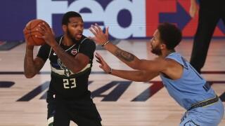 Bucks Grizzlies Basketball
