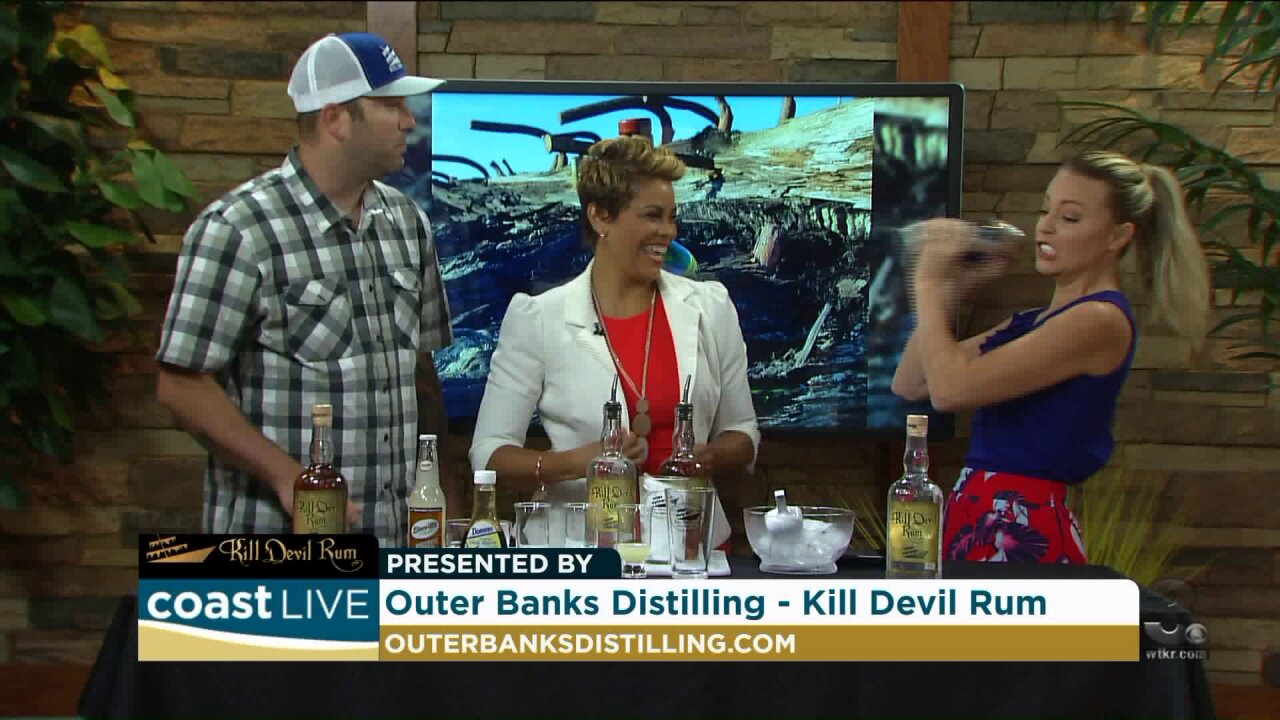 "Making ""The Summer Storm"" with Kill Devil Rum on Coast Live"