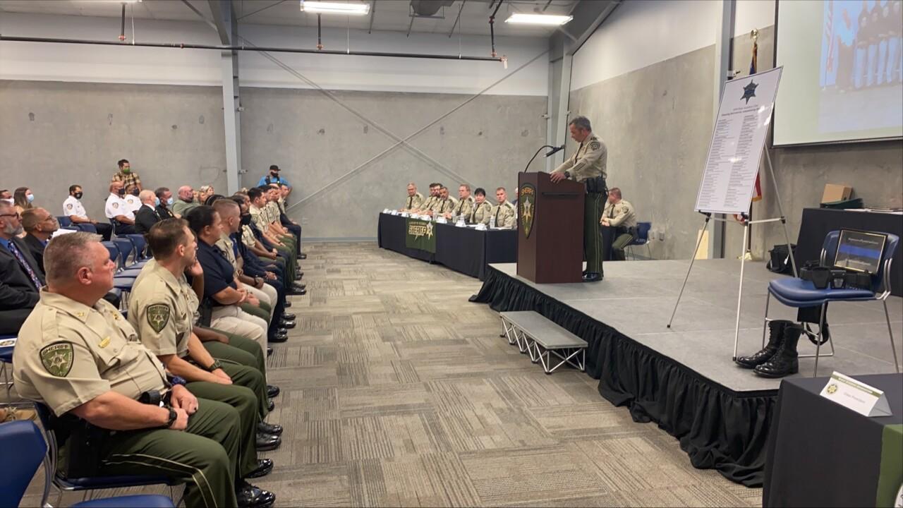 Cadet training academy graduation