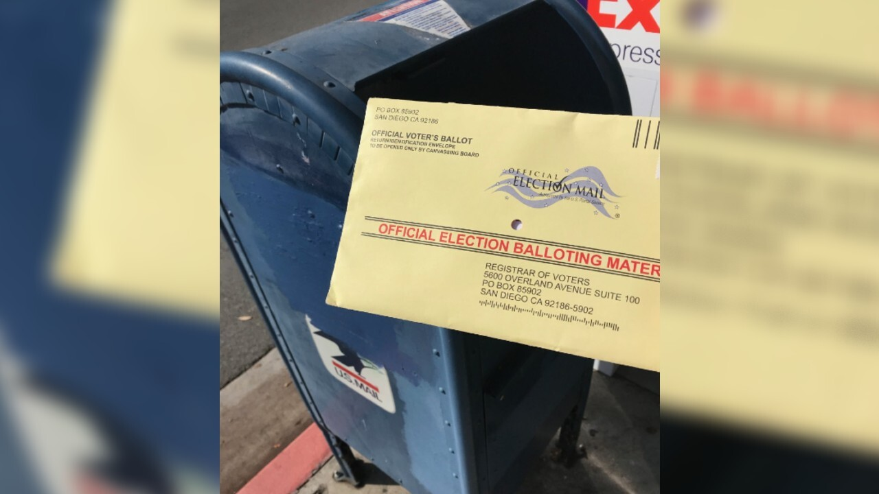 California to send all voters mail-in ballots this November