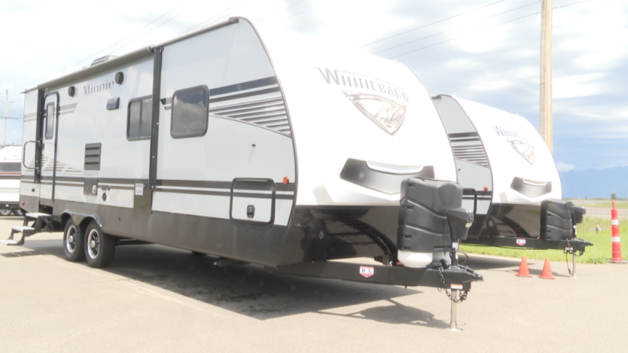 Van City RV sees huge increase in purchases due to COVID-1`9