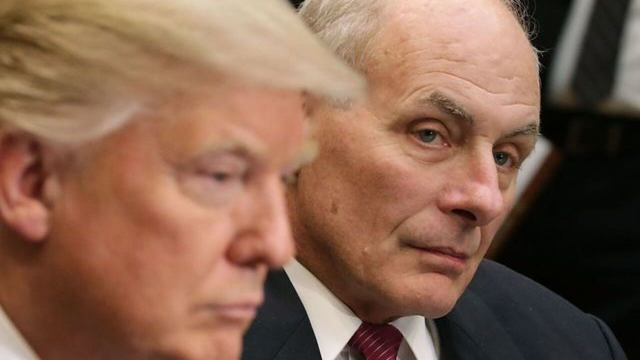 White House Chief of Staff John Kelly has been interviewed by Robert Mueller