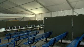 KNXV CBP New Yuma Migrant Facility
