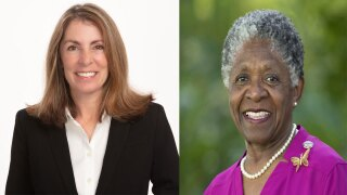 Juli Casale and Shirley Johnson, Delray Beach commissioners