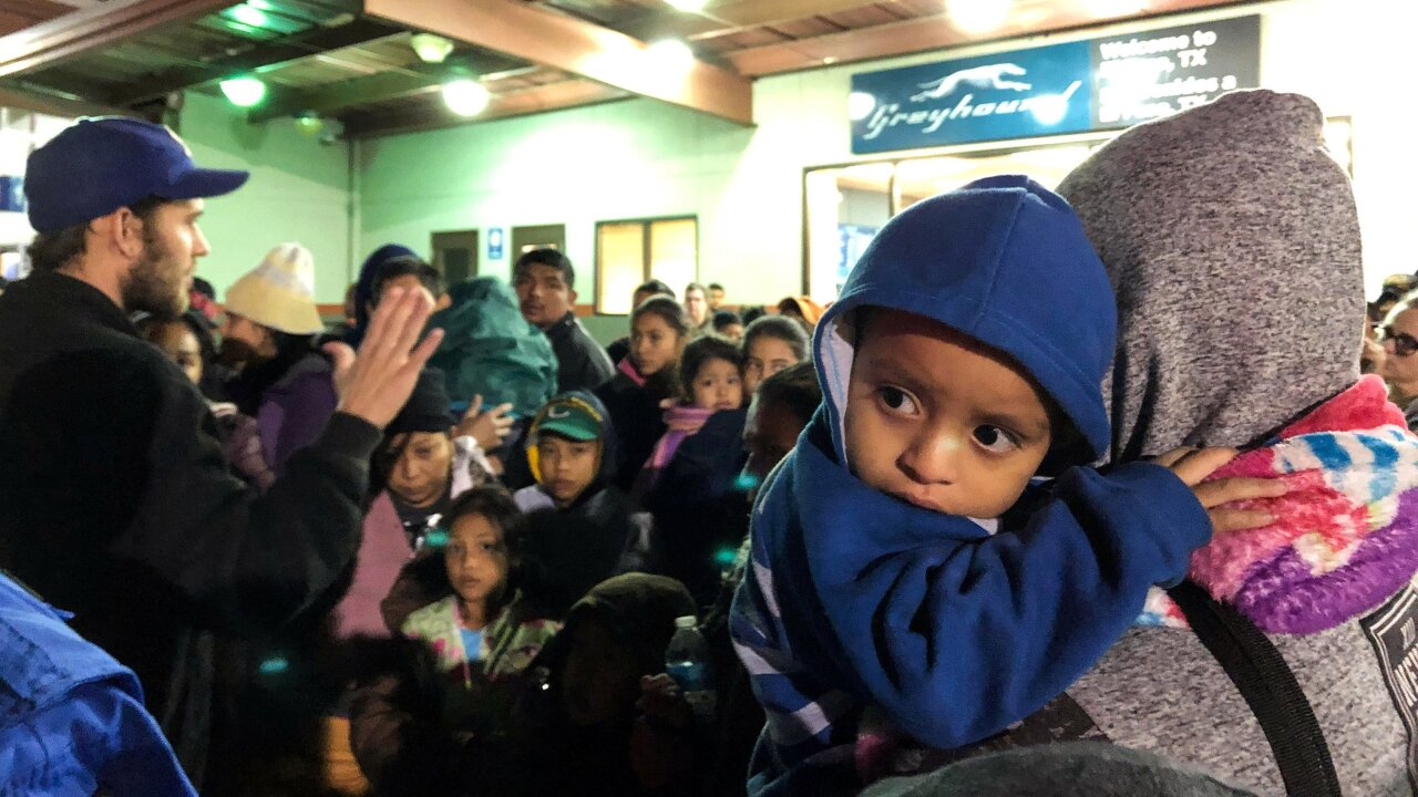 Hundreds more migrants may be released in El Paso on Christmas