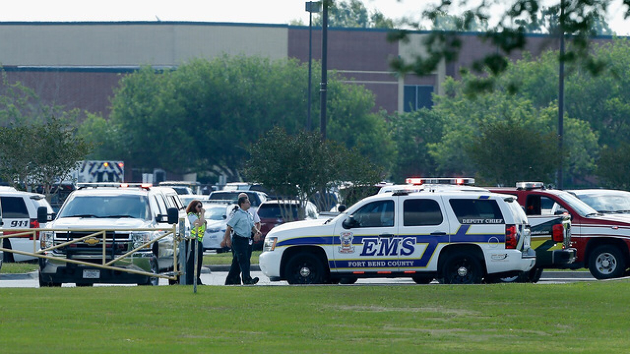 Active shooter reported at Texas high school