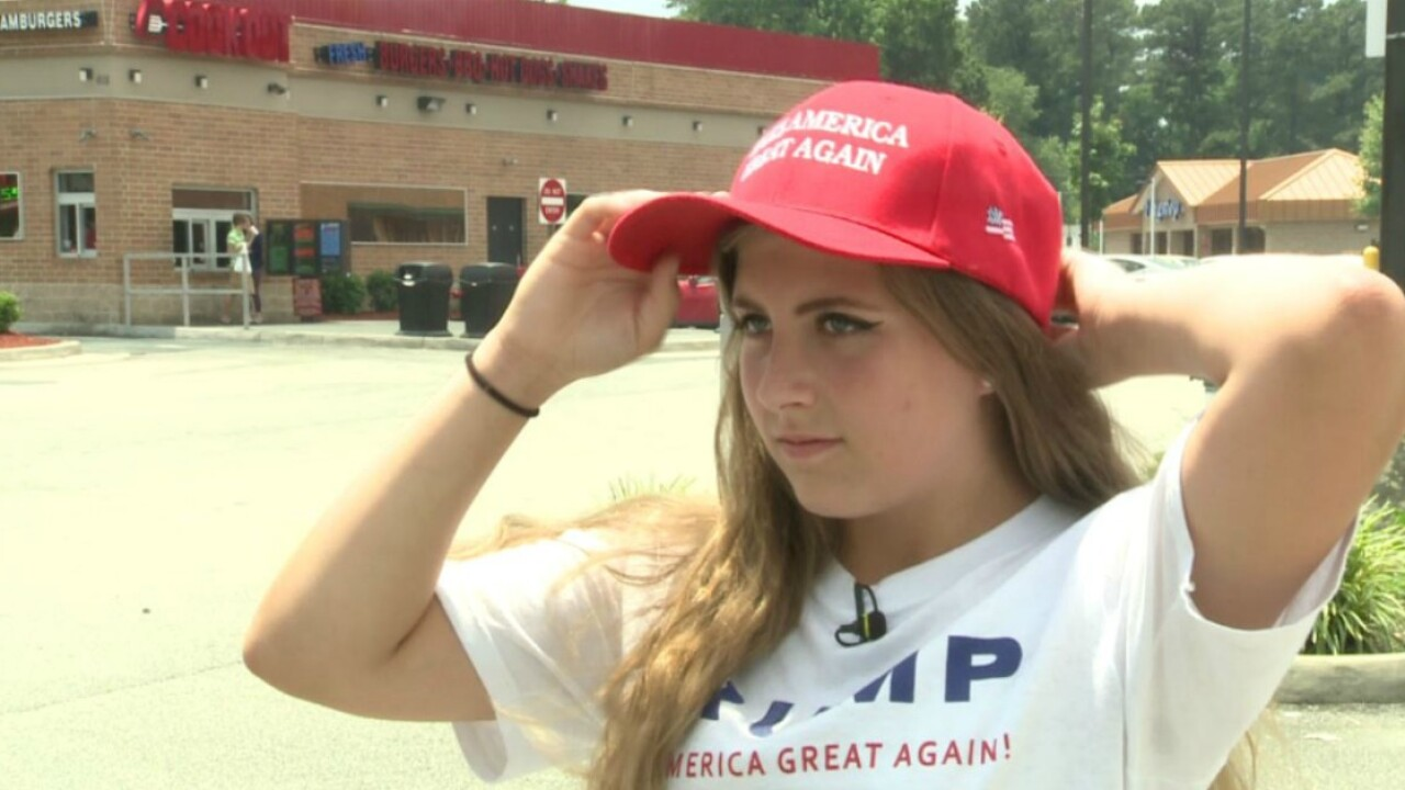 Trump supporters denied service at Cook Out