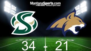 Sacramento State Hornets 34, Montana State Bobcats 21