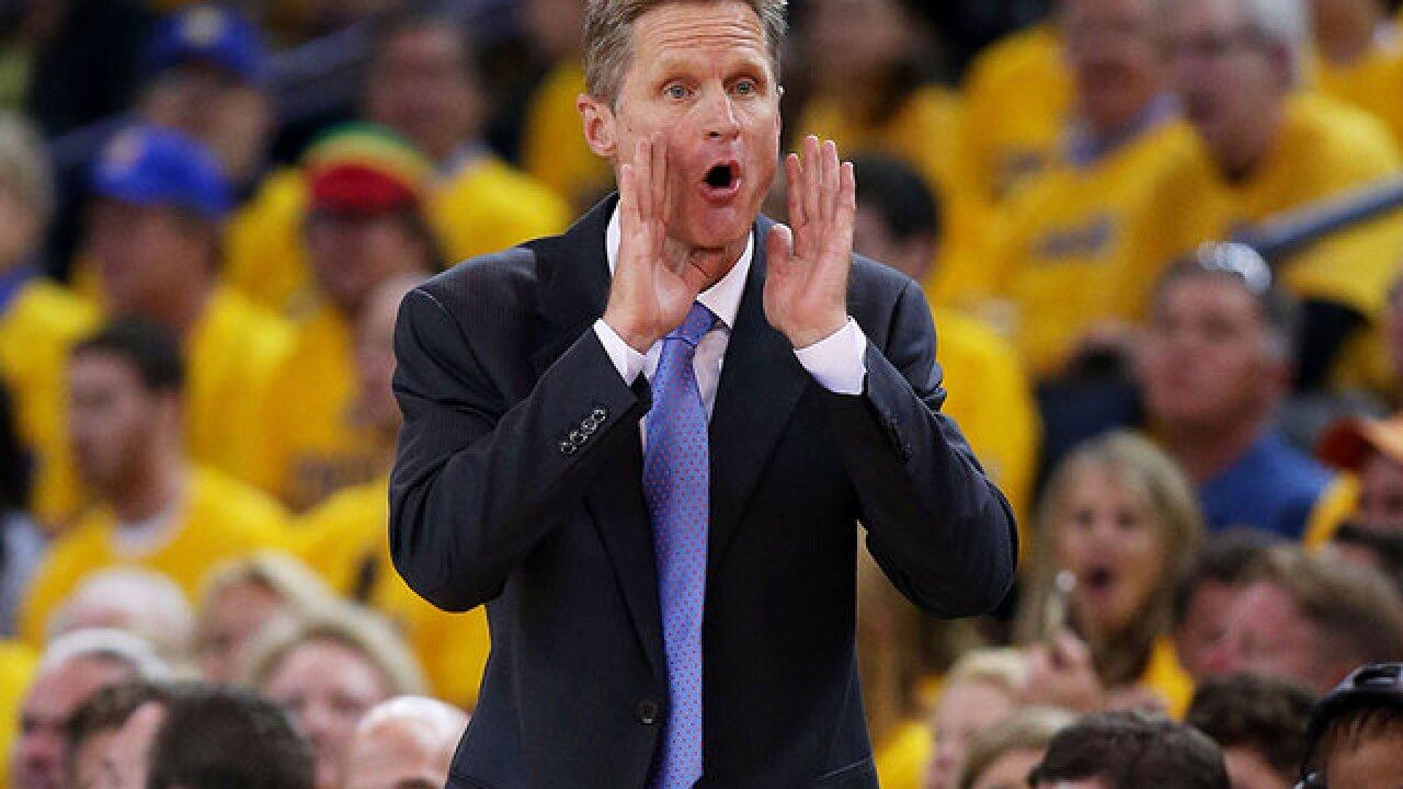 Steve Kerr looks to add another title to his resume in NBA Finals