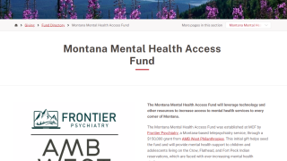 New fund aims to improve mental health services for tribal and rural communities