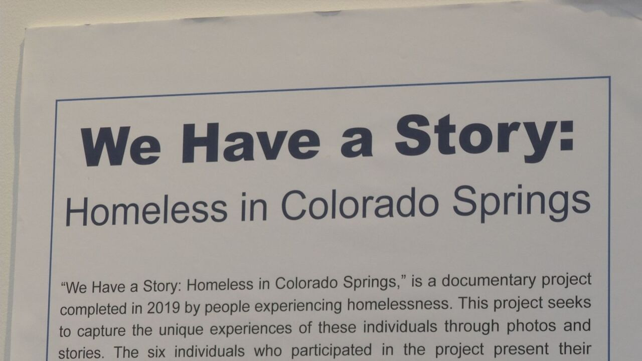 New exhibit shows what it's like to be homeless