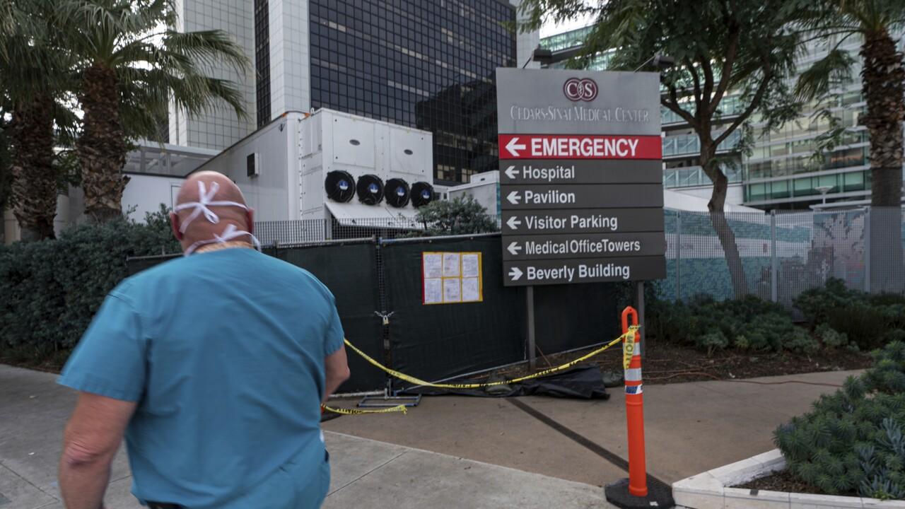 Virus Outbreak Hospitals